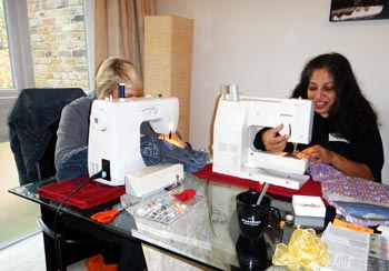 Supervised Sewing Groups